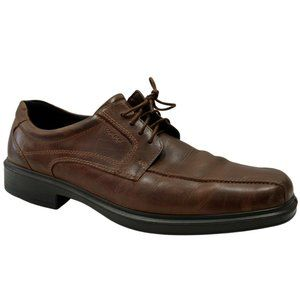 Ecco Bicycle Toe Oxford Dress Shoes Mens Size 49 1